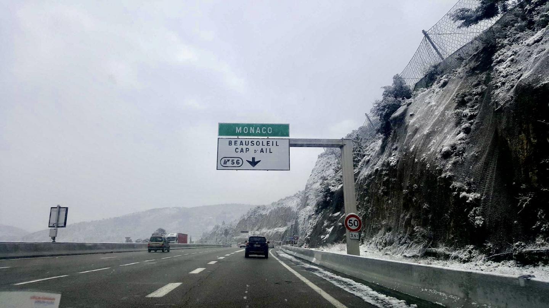 Malgré la neige, la circulation était fluide ce matin, peu après 9h