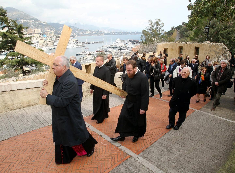 Le traditionnel chemin de Croix sur la rampe Major.(Archives MM)