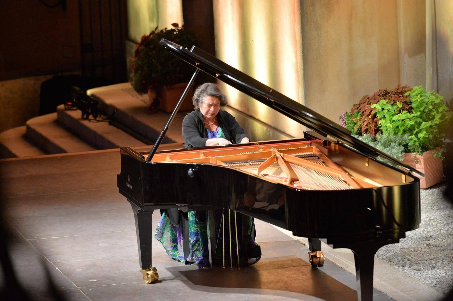 Elisabeth Leonskaïa au Festival de Musique de Menton