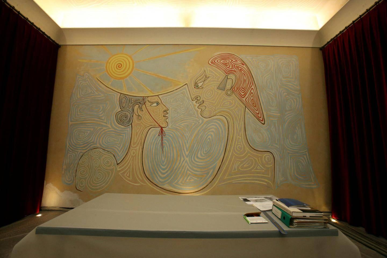 De nombreuses animations sont prévues pour fêter en grande pompe les 60 ans de la salle des mariages de Menton, décorée par Jean Cocteau