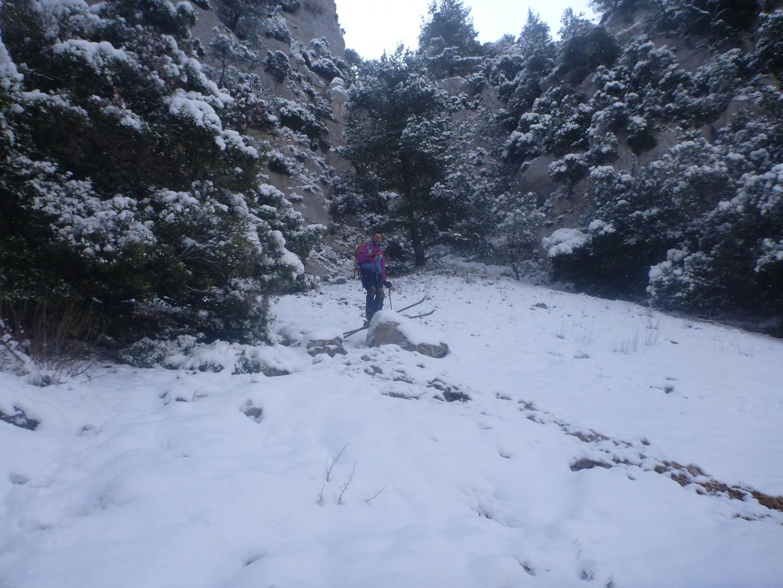 Quand j'ai vu toute cette neige sur les pentes, je n'ai pas résisté à son appel.