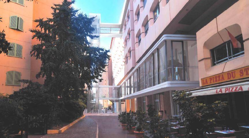 La passerelle pour y accéder surplombera l'avenue des Castelans
