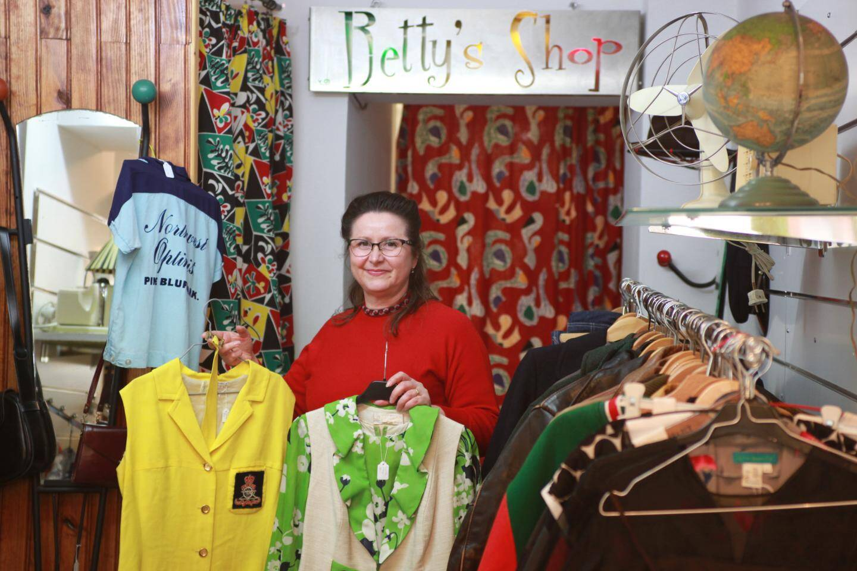 La boutique Betty's Vintage a ouvert en septembre dernier à Solliès-Pont... pour le plus grand bonheur des nostalgiques.