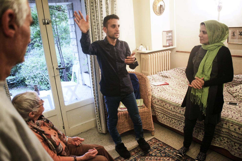 Les deux Afghans ont pris des cours intensifs de français pour s'intégrer rapidement.