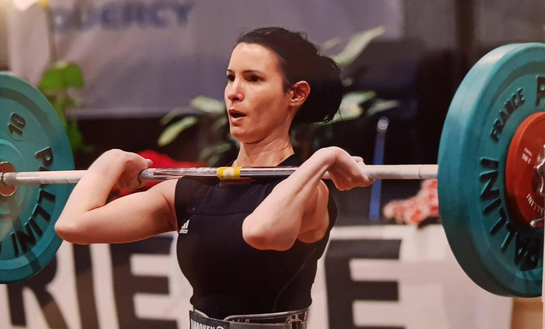 Titre et record personnel pour Stéphanie Roson.