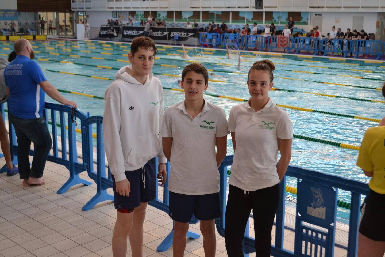 Quentin Lehec, Jérémy Flèche et Océane Hennequez. (DR)