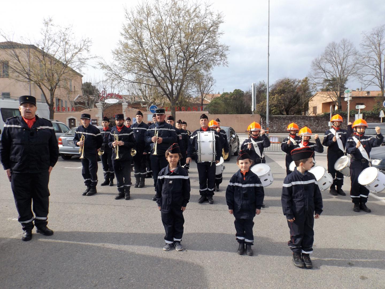 L'école et batterie fanfare Nord Sainte Baume a accompagné la cérémonie et l'assemblée générale en musique.