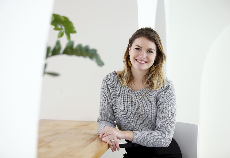 Anthéa Douzenel, à la tête d¿une entreprise de décoration pour le dossier sur les jeunes entrepreneurs ANTHEA DOUZENEL