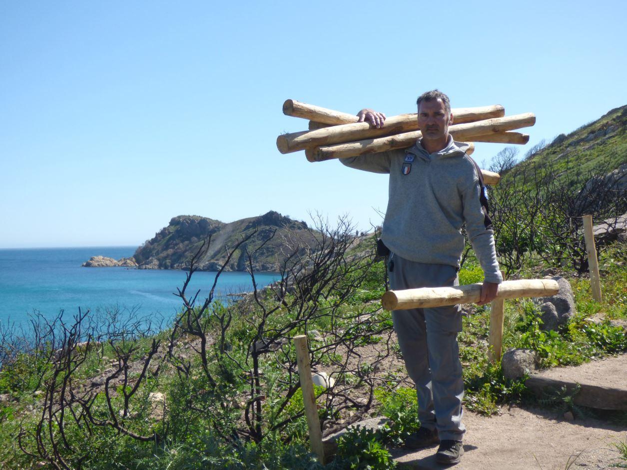 Les gardes du littoral n'ont pas chômé au cours des huit derniers mois pour remettre ces deux sites naturels en état.