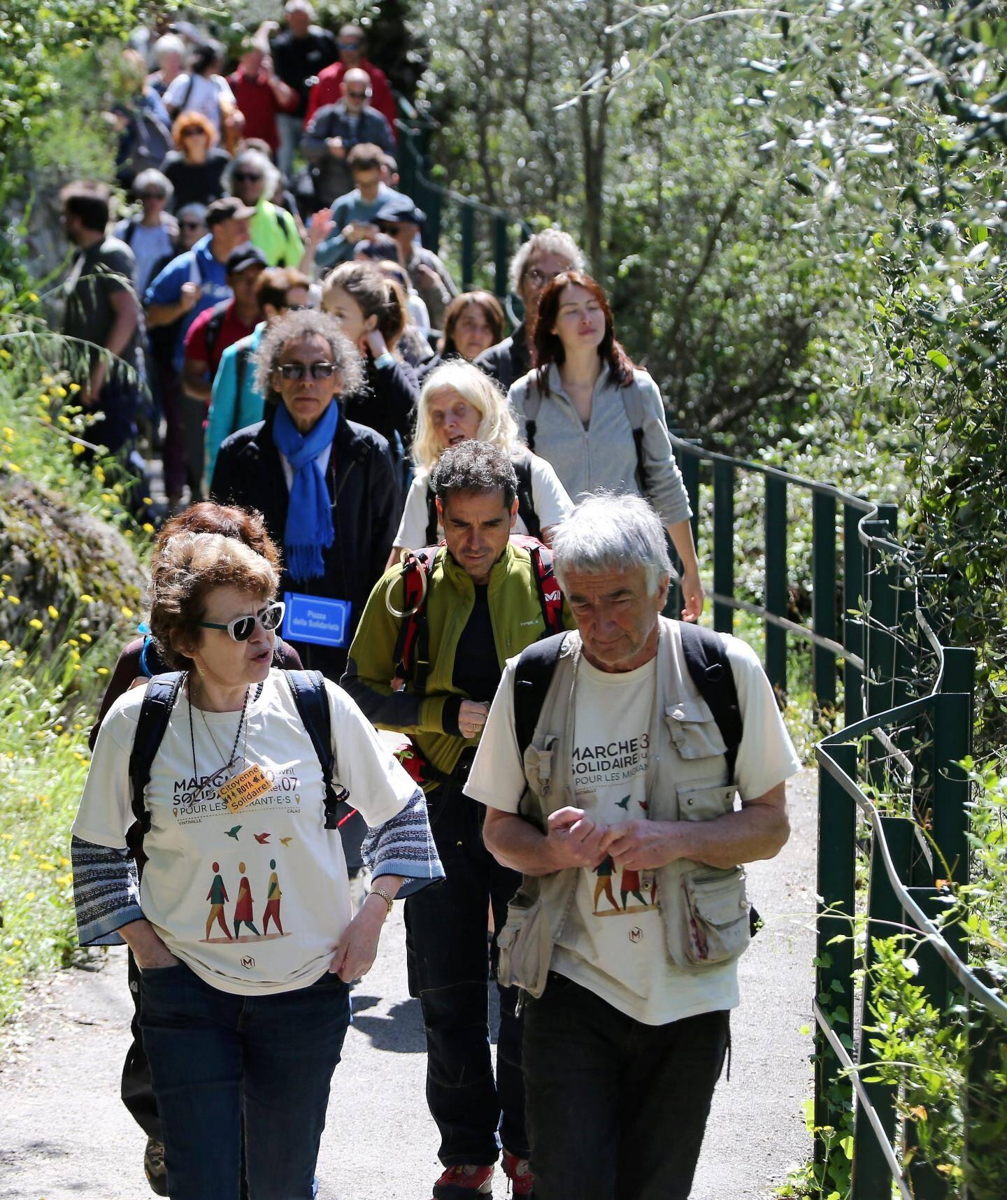 Au menu de cette marche: 1.400 kilomètres en 60 étapes avec une moyenne de 50 marcheurs à chaque fois.