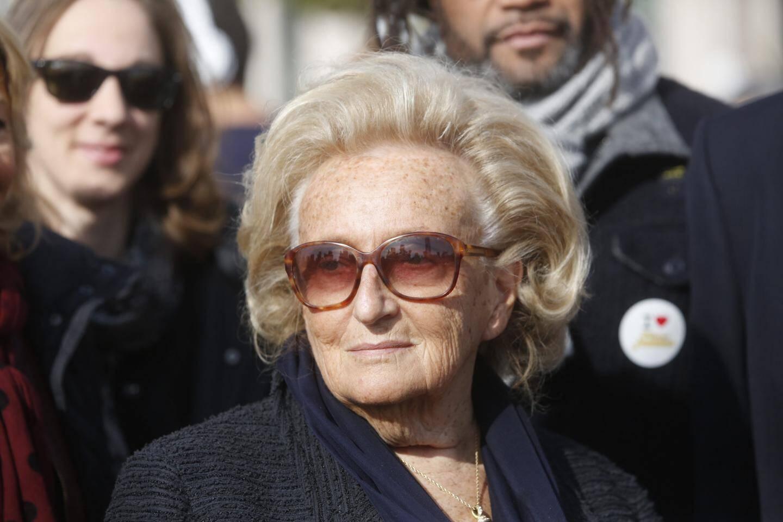 Bernadette Chirac en 2016 à Nice.