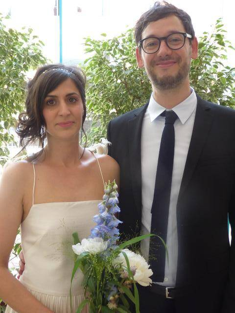 Emanuelle Seguin, puéricultrice, et Adrien Richard, chercheur au CNRS.