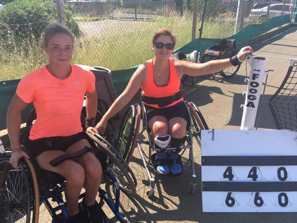 Le tennis fauteuil à l'honneur.