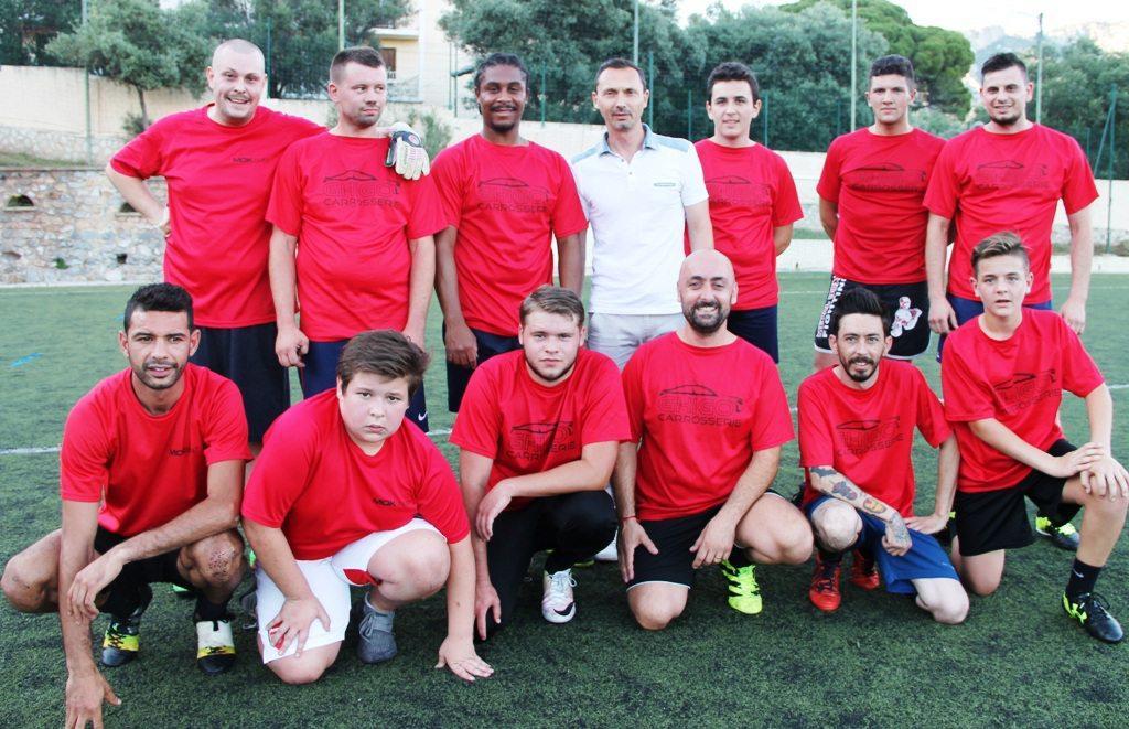 L'equipe de la carrosserie Ghigo s'impose en finale de cette «Europa League valettoise» 2018.