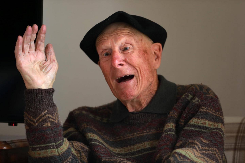 René Sintès, 94 ans, confie pour la première fois son témoignage. « Je ne pensais pas que ça pouvait intéresser », livre-t-il .