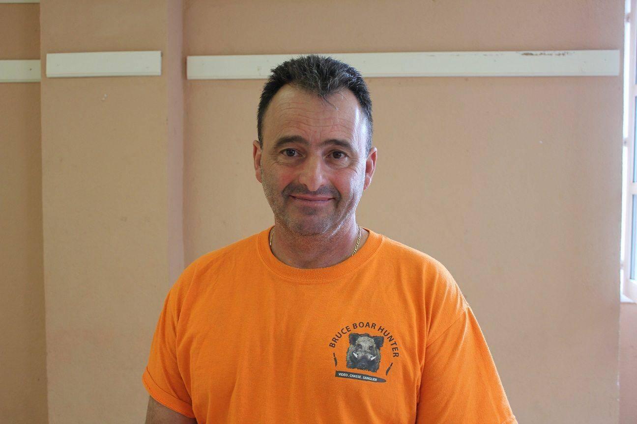 Christian Barberis, 53 ans, chef de battue depuis 2004 et président de « la Grive » depuis 2006