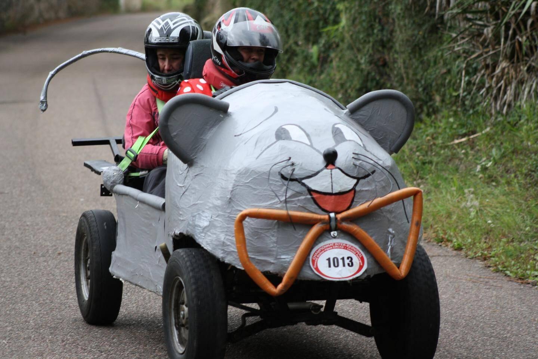 La course de caisses à savons se déroule dimanche à Rians.