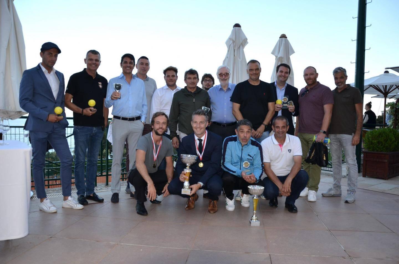 Toutes les équipes de padel, dont la gagnante Fonction publique de Monaco.
