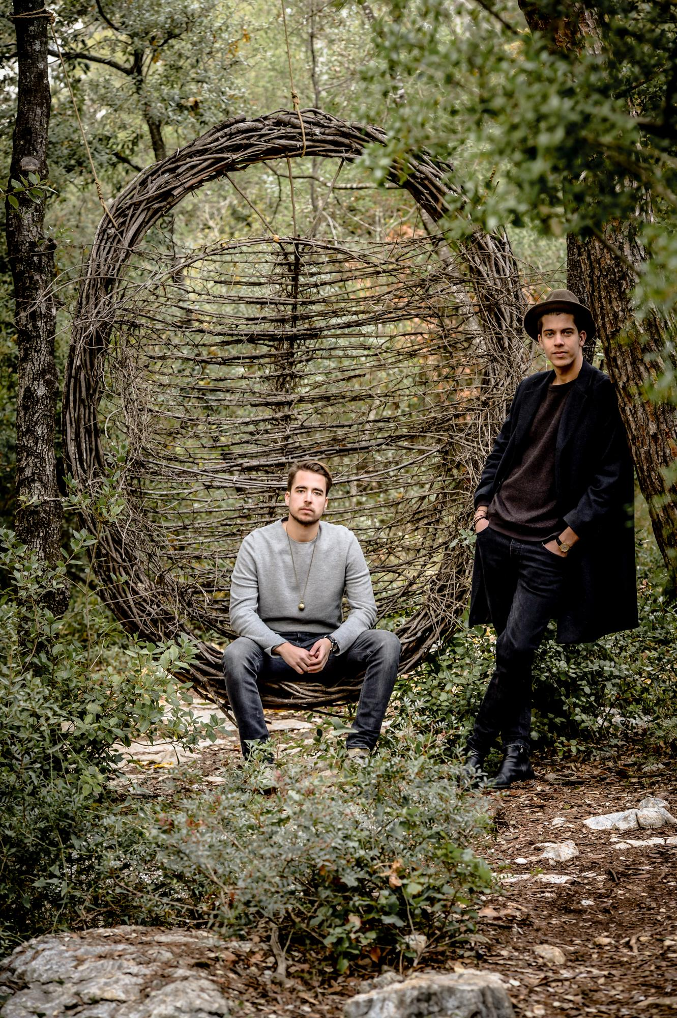 Julien et Thomas de Bie, les organisateurs du festival.