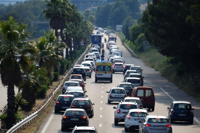 Embouteillages à Toulon