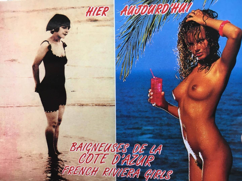 Carte postale trouvée à Nice.