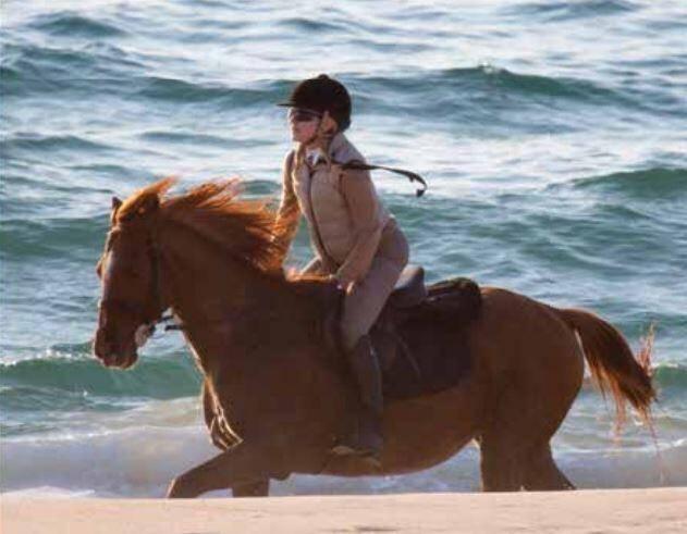 Une après-midi à cheval avec Madonna.