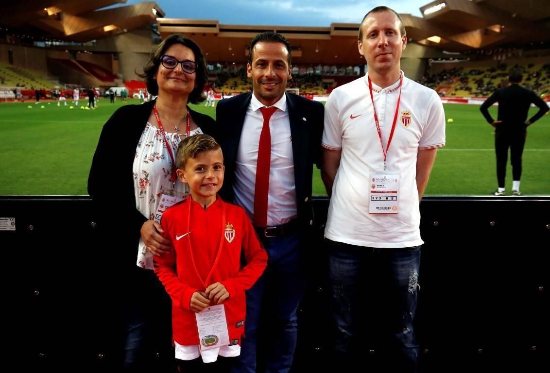 """L'AS Monaco et son ambassadeur, Ludovic Giuly, soutiennent la Fondation Flavien par l'intermédiaire du programme """"AS Monacoeur""""."""