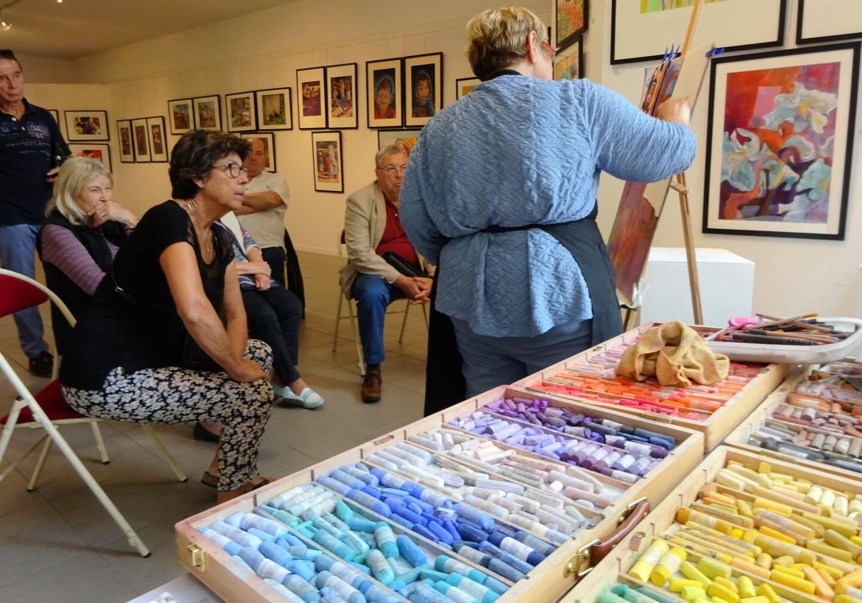 Au cours de l'atelier, les participants ont pu questionner sa pratique personnelle.