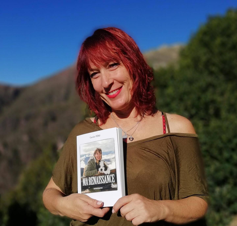 Carole Péru dans  sa montagne. (DR)