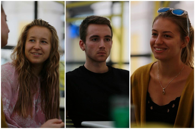 Ysatis, Julien et Aileen,  des étudiants qui s'engagent pour les autres.