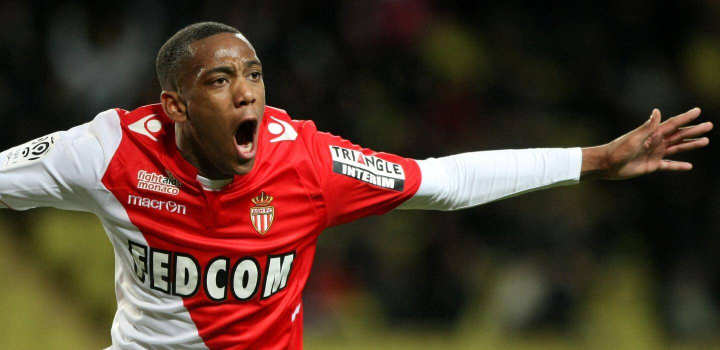 Anthony Martial sous le maillot de l'AS Monaco