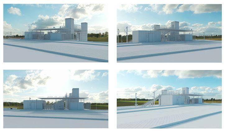 Voici la maquette du projet envisagé à Sainte-Musse.