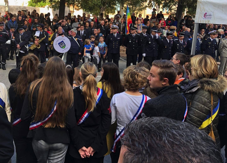 Beaucoup de monde durant la cérémonie.(Ph. DR)