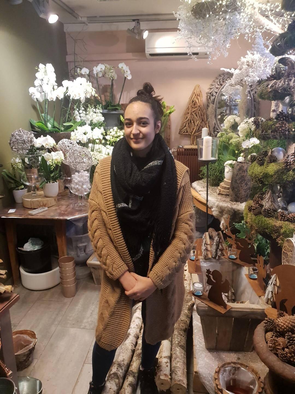 Déjà titrée lors du concours du meilleur apprenti de France, la jeune Grassoise vise le doublé en catégorie « art floral ».