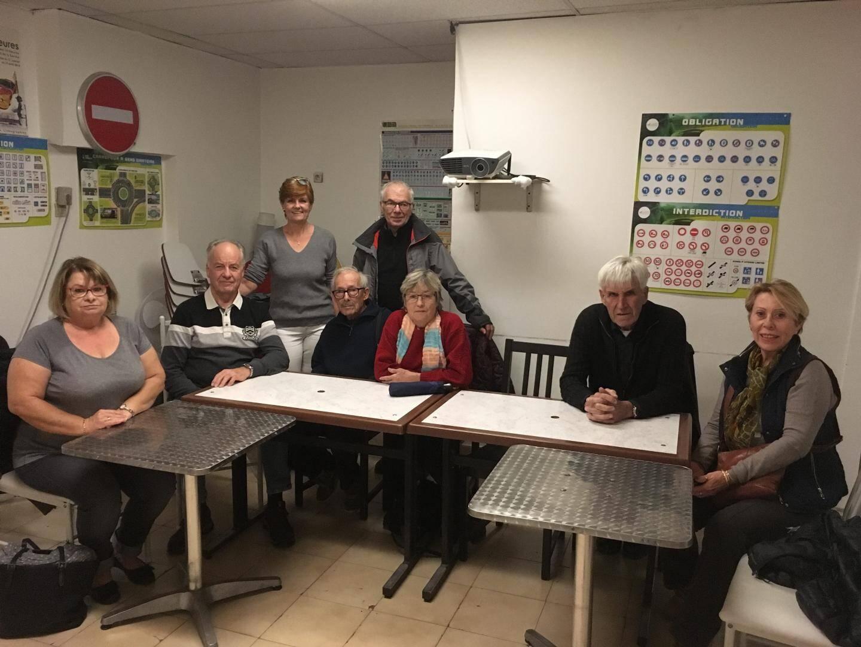 Les membres de l'association La Joie de vivre.
