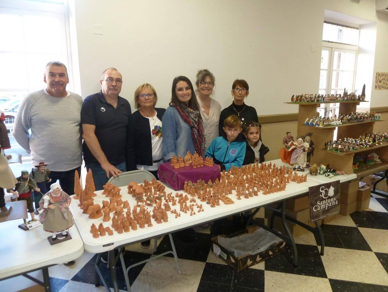 L'équipe des parents d'élèves de l'UAEP, autour d'Elodie Delor, est fière d'avoir réussi à organiser ce week-end.