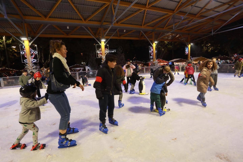 La patinoire d'Hyères.