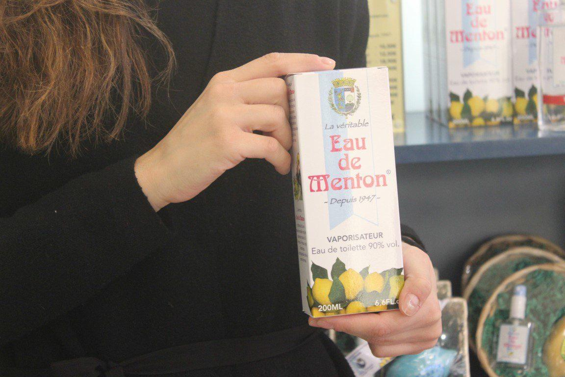 "L'eau de Menton de la boutique ""Prestige de Menton"""