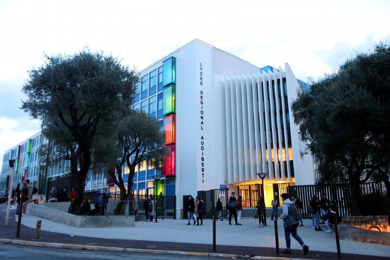 Lycée Audiberti à Antibes.