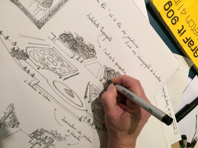 Le livre fera aussi la part belle au cadre de vie et à l'architecture.