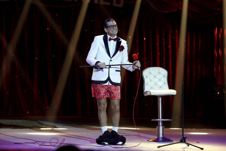 Le clown portugais César Dias renouvelle le genre avec son intérpretation toute personnelle de «My way» qui vaut bien le clown de bronze avec lequel il repart cette année.