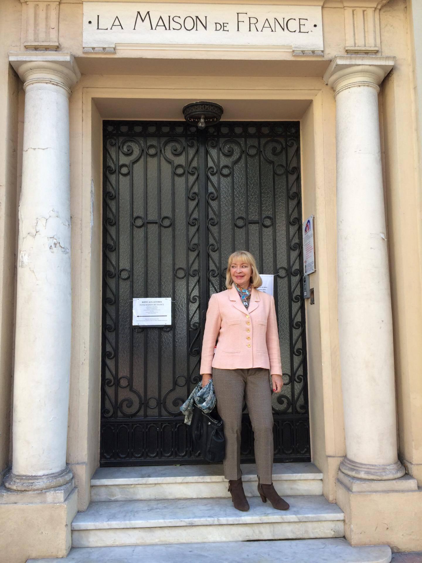 Installée à Monaco depuis l'an 2000, Michelle Mauduit-Pallanca s'est très vite investie dans la vie associative.