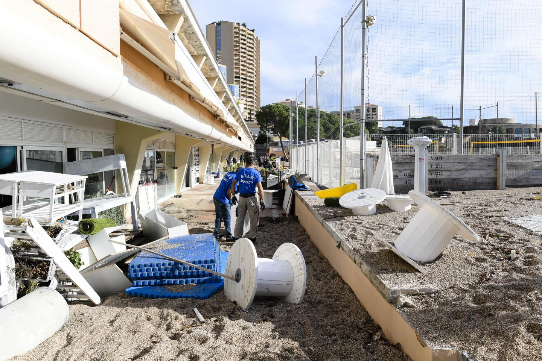 À Monaco ou à Cap-d'Ail, les établissements du bord de mer ont particulièrement été impactés.