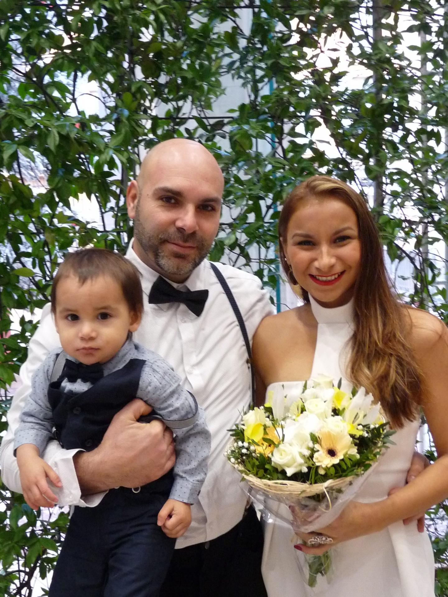 Joao Menezes de Mendonça, chef d'équipes dans le BTP, et Jessica Alonzo Lainez, auxiliaire de vie.