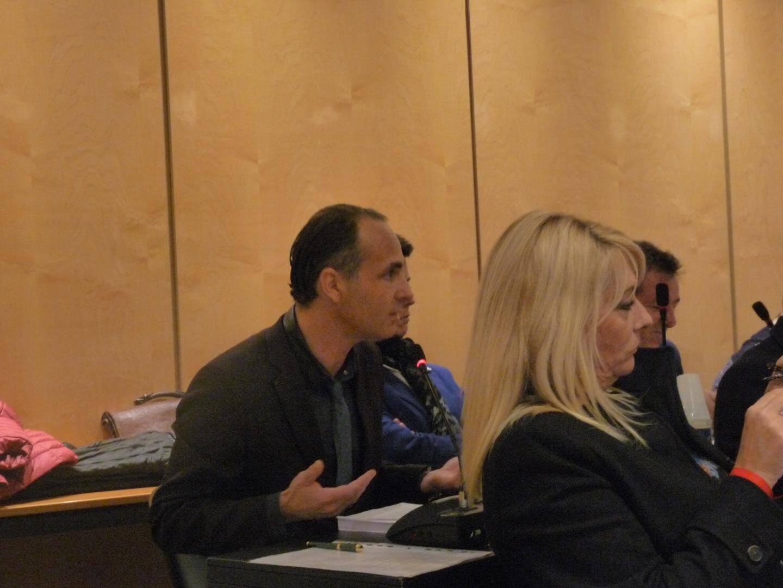 Yann Farima, conseiller d'oppostion, s'est exprimé contre le projet.