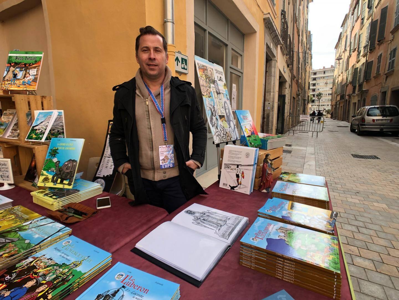 Le dessinateur LoBé a croqué La Garde dans le dernier volume aux éditions Prestance.