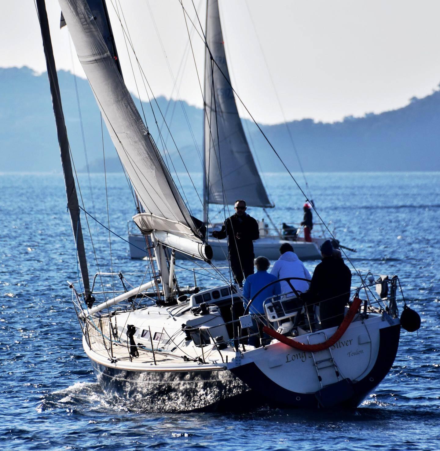 Long-John-Silver de Christophe Caussil, le président du Yacht-Club Lavandourain.