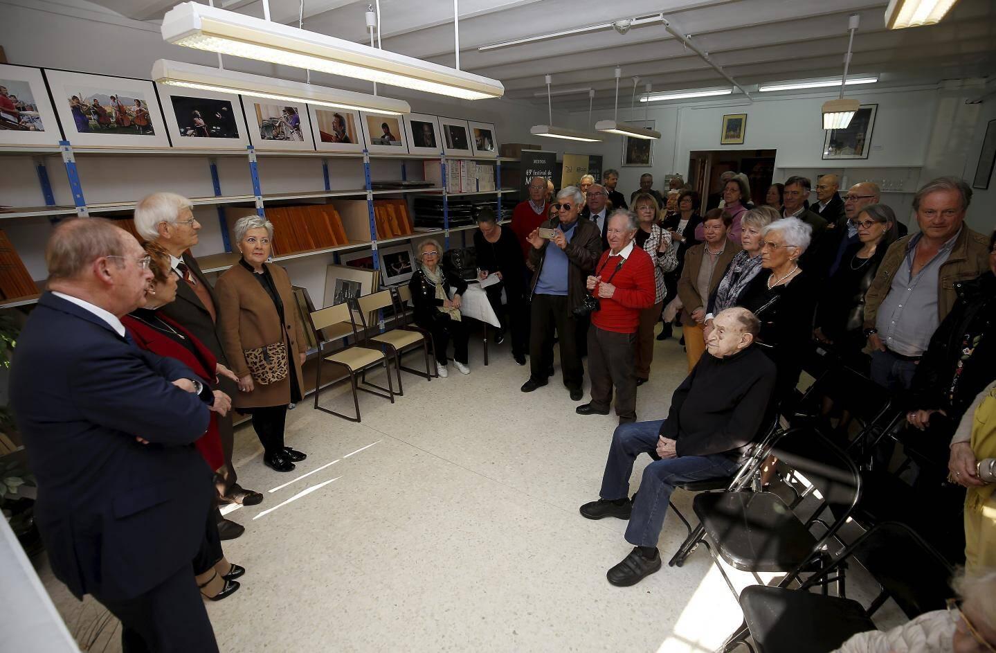 Hier, le nouveau local de l'association a été inauguré au 3, rue Pasteur.