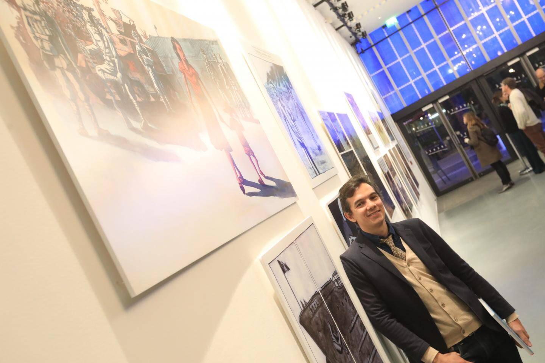 Des planches de la série  Mémoires de Viet Kieu, réalisée par cet auteur et dessinateur marseillais font partie de l'une des expositions.