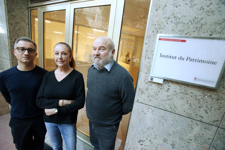 Patrick Simon (à droite) affine avec son équipe le champ d'actions de l'Institut qu'il dirige.